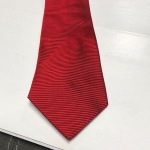 Burberry Red Tie #1066